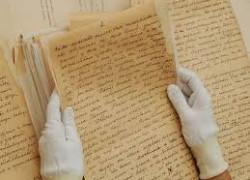Почерк и наклон букв