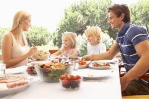 пикник и семья