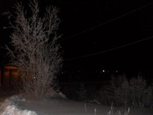зима на крайнем севере