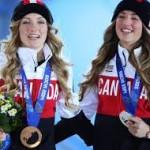 Количество медалей на Олимпийских играх 2014.