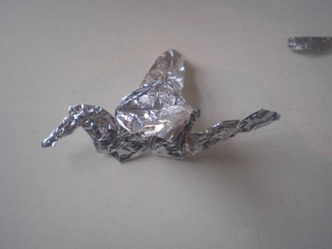 журавлик-из-металла фото