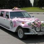 Организация свадебного кортежа — оформление машин